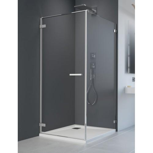 Radaway Arta KDJ I szögletes zuhanykabin 90x90 króm keret, átlátszó üveg