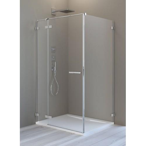 Radaway Arta KDJ II szögletes zuhanykabin 90x90 króm keret, átlátszó üveg