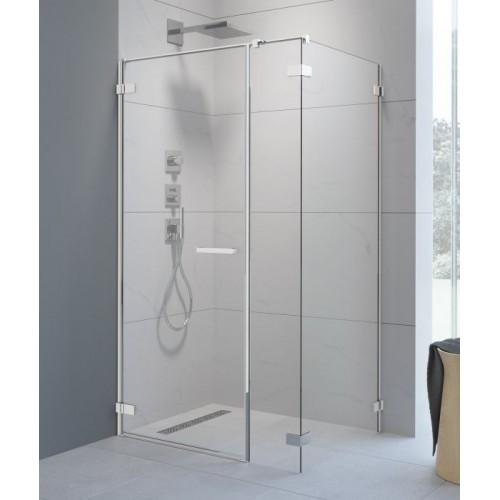 Radaway Arta KDS I szögletes zuhanykabin 90x90 króm keret, átlátszó üveg