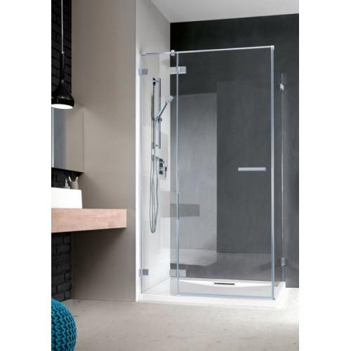 Radaway Euphoria KDJ szögletes zuhanykabin 90x90 króm keret, átlátszó üveg