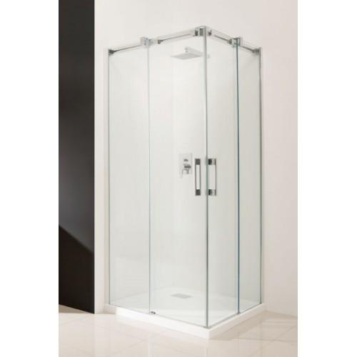 Radaway Espera KDD szögletes zuhanykabin 90x90 króm keret, átlátszó üveg