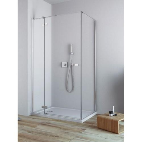 Radaway Fuenta New KDJ szögletes zuhanykabin 90x90 króm keret, átlátszó üveg