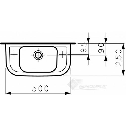 Laufen Pro B 50x25 kézmosó