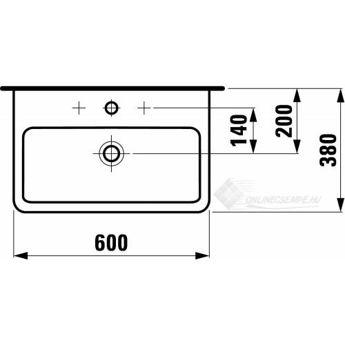 Laufen Pro A 60x38 mosdó