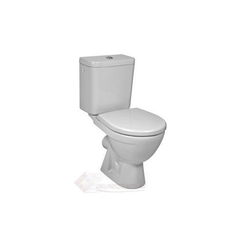 Jika Lyra Plus monoblokk WC, mély öblítés, hátsó kifolyás