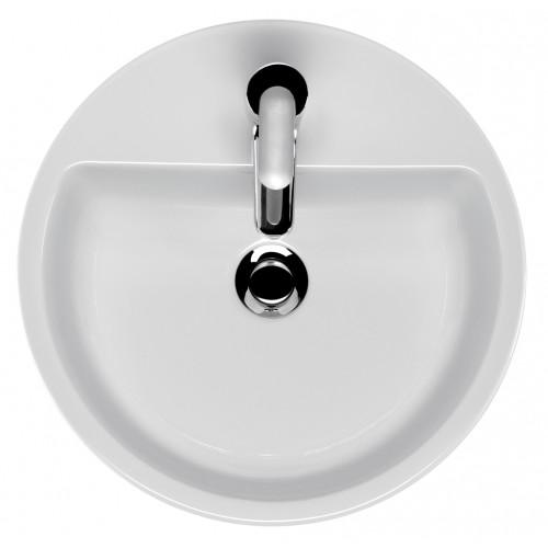 Cersanit Caspia 44 kör alakú, pultra szerelhető mosdó