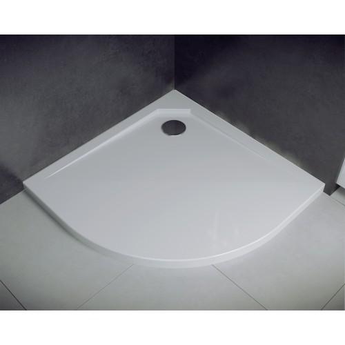 Besco Asco UltraSlim 80 íves zuhanytálca 80x80x2