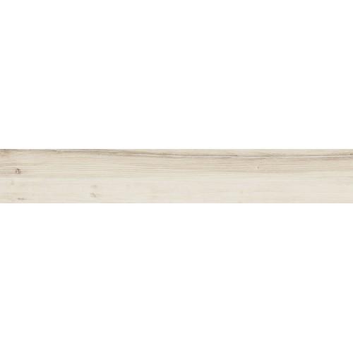 Tubadzin Wood Craft White STR 23x149,8 padlólap