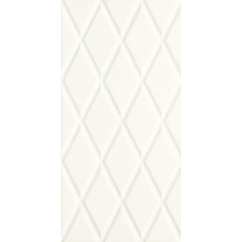 Paradyz Ceramika Moonlight Bianco STR B 29,5x59,5 csempe
