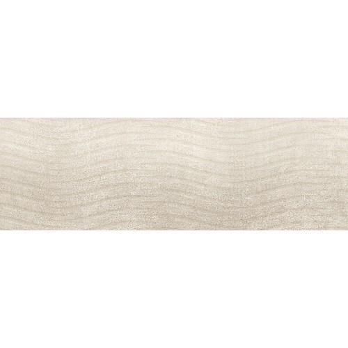 Cersanit Torana Cream Tonal 3D Satin 24x74 csempe