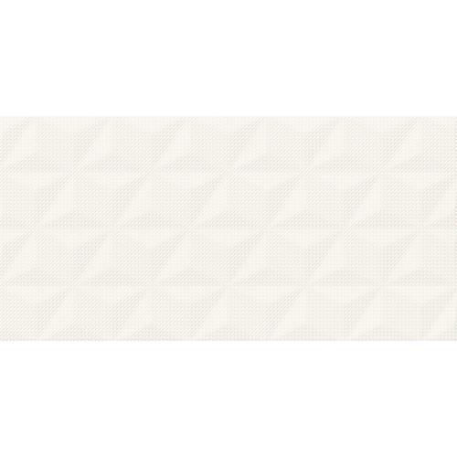 Cersanit PS802 White Satin Geo STR 29x59 csempe
