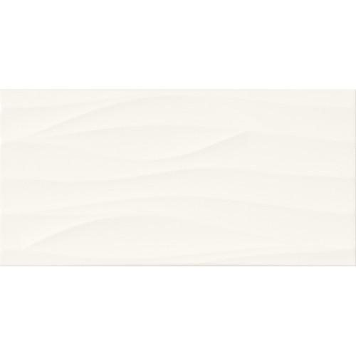 Cersanit PS800 White Wave Satin STR 29,8x59,8 csempe