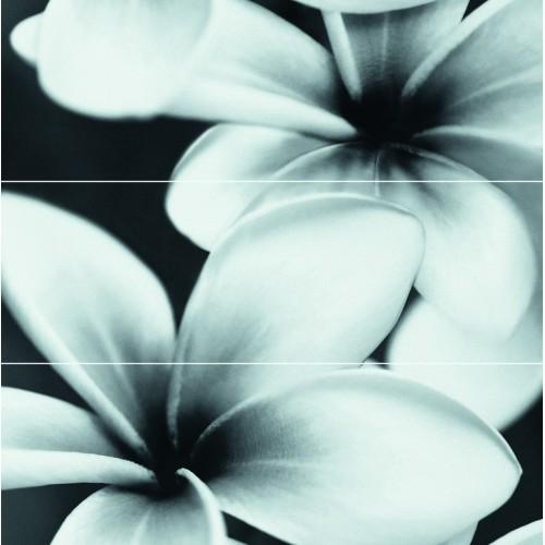 Cersanit Pret-a-Porter Flower Grey Composition 25x75 dekor szett