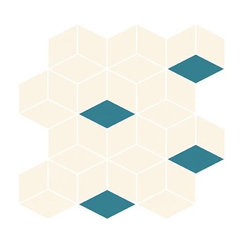 Cersanit Colour Blink Mosaic Diamond Mix 28x29,7 mozaik