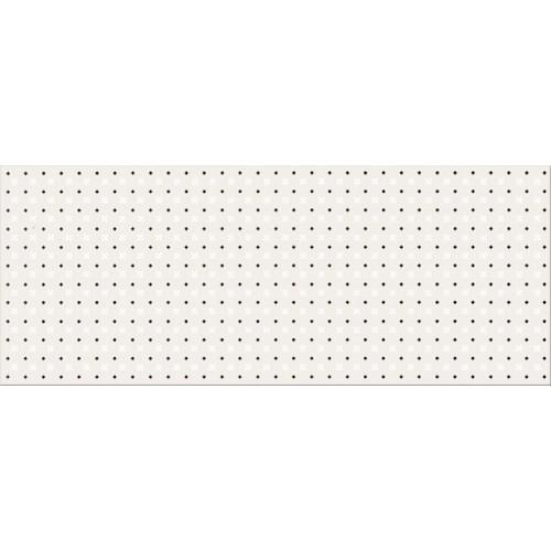 Opoczno Black&White Pattern B 20x50 dekor csempe