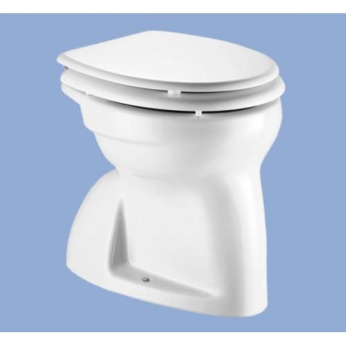 Alföldi Bázis álló gyerek WC, lapos öblítés, alsó kifolyás