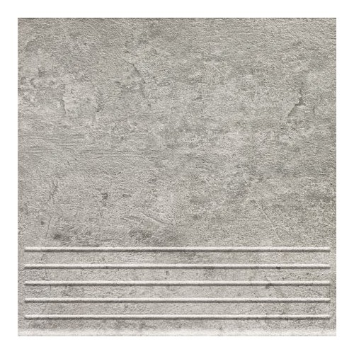 Domino Gris Graphite 33,3x33,3 lépcsőlap