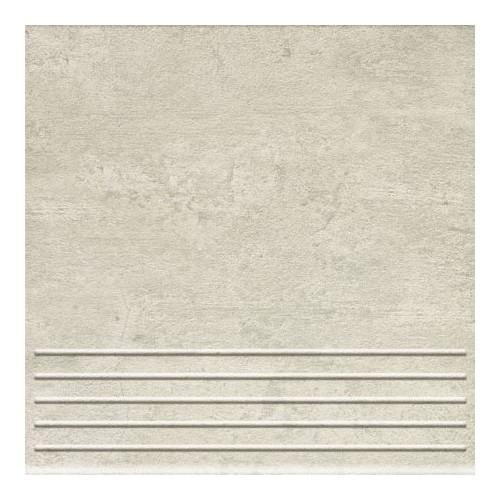 Domino Gris Grey 33,3x33,3 lépcsőlap