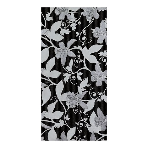Arté Floris Czarna (Black) 29,8x59,8 dekor csempe
