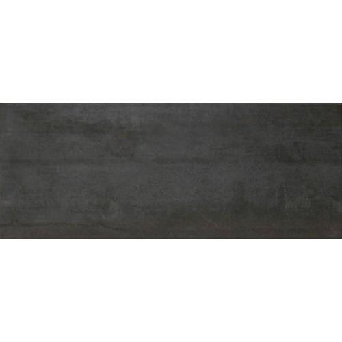 Cifre Ceramica Oxigeno Black 20x50 fali csempe