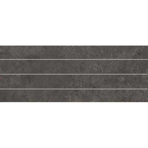 Cifre Ceramica Stick Cement Antracite 20x50 fali csempe