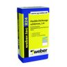 Weber.tec 824 (Superflex D1) egy komponensű, szálerősített szigetelőhabarcs 20 kg