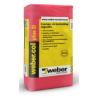 Weber.col plus D (C2TE) csempe- és burkolólap ragasztó 25 kg