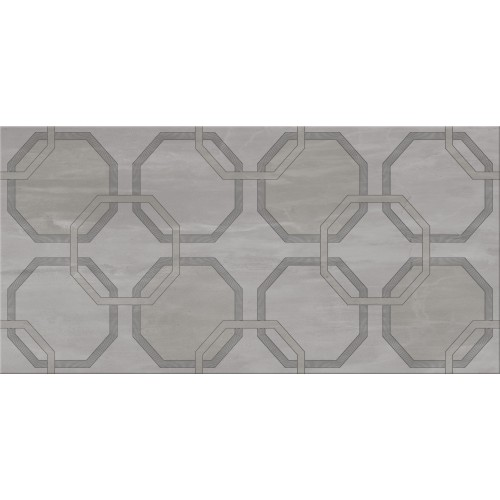 Cersanit City Grey Inserto Geo 29,7x60 dekor