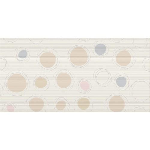 Cersanit Hortis White Inserto Geo 29,7x60 dekor
