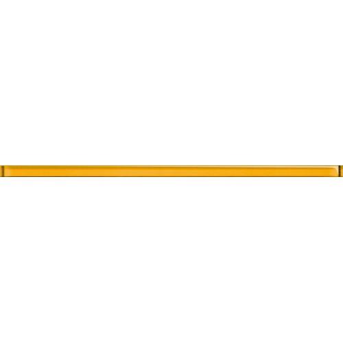Cersanit Hortis Glass Yellow Border 2x60 dekor csík