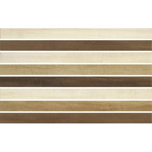 Cersanit Mosa Mix Mosaic Stripes 25x40 dekor