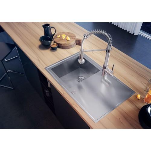 Deante Molla mosogató csaptelep 150 cm-es gégecsővel