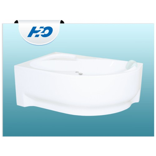 H2O Fortuna aszimmetrikus kád 160x100