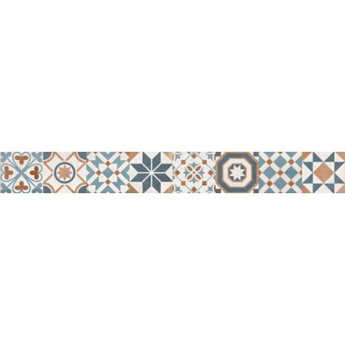Keramika Kanjiza Maiolica Vintage 6x50 dekor csík