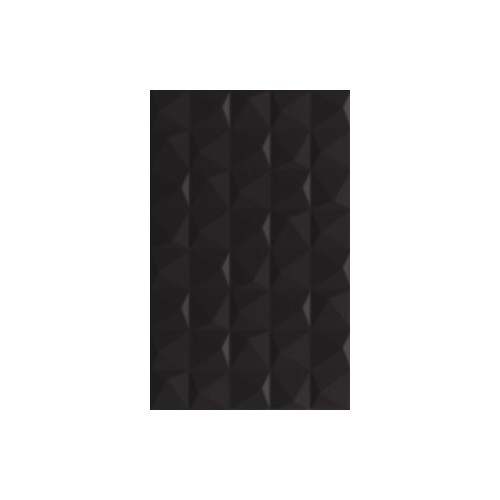 Kwadro Ceramika Melby Nero Structure 25x40 csempe