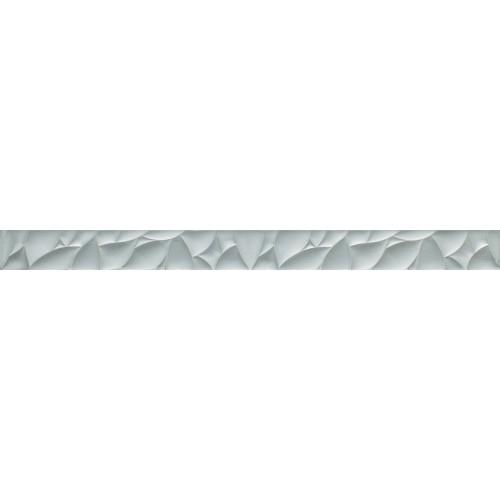 Paradyz Ceramika Esten Silver Glass Board 4,8x59,5 dekor csík