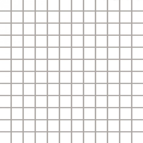 Paradyz Ceramika Albir Bianco 30x30 mozaik