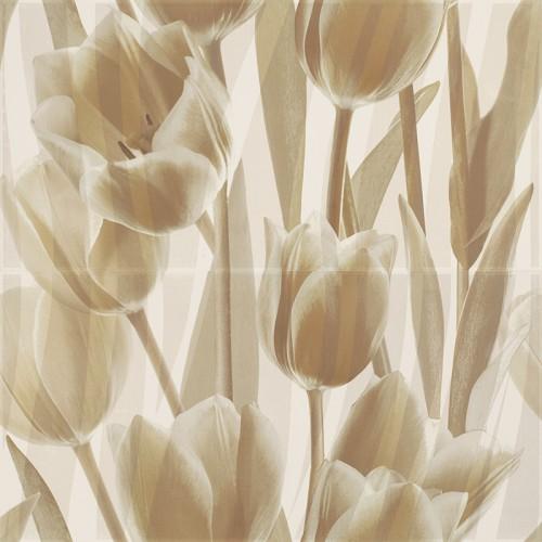 Paradyz Ceramika Coraline Panel Tulipany 60x60 dekor