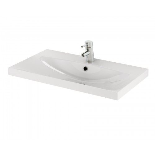 Cersanit Amao 80 pultra szerelhető mosdó