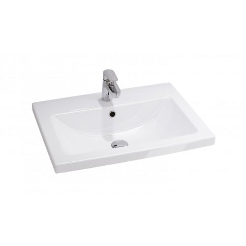 Cersanit Como 60 pultra szerelhető mosdó