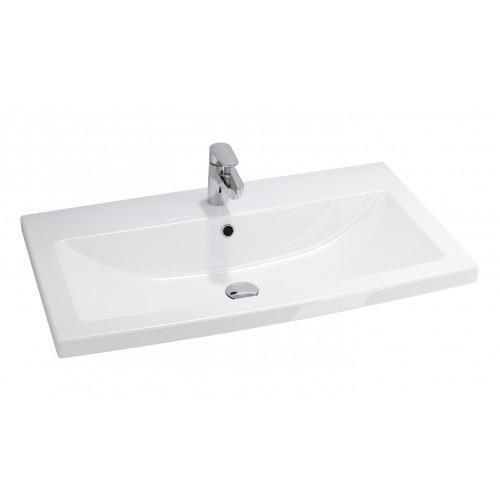 Cersanit Como 80 pultra szerelhető mosdó
