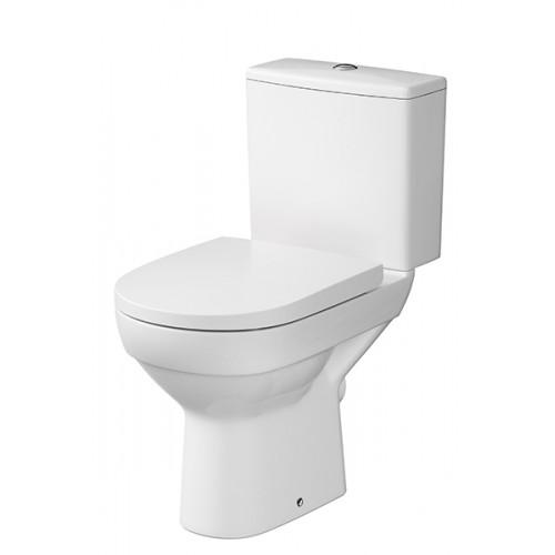 Cersanit City monoblokk WC mély öblítés, hátsó kifolyás