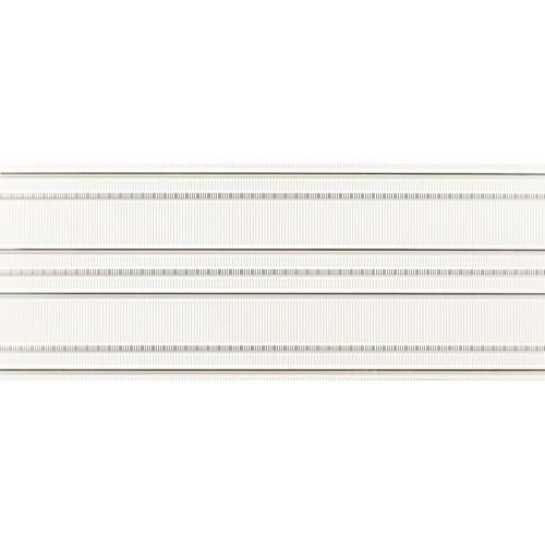 Tubadzin Abisso White 1 29,8x74,8 dekor csempe