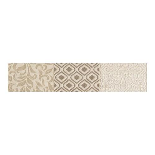 Arte Ceramika Karyntia Beige 7,4x36 dekorcsík
