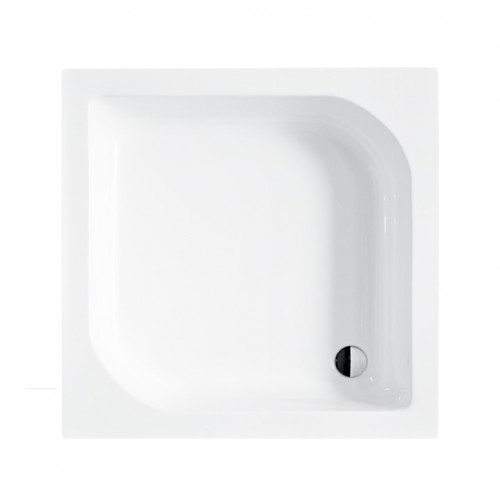 Besco Ares 90 szögletes, mély zuhanytálca 90x90x15