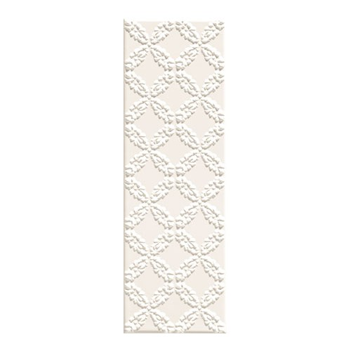 Arte Ceramika Blanca Bar White C 7,8x23,7 dekor