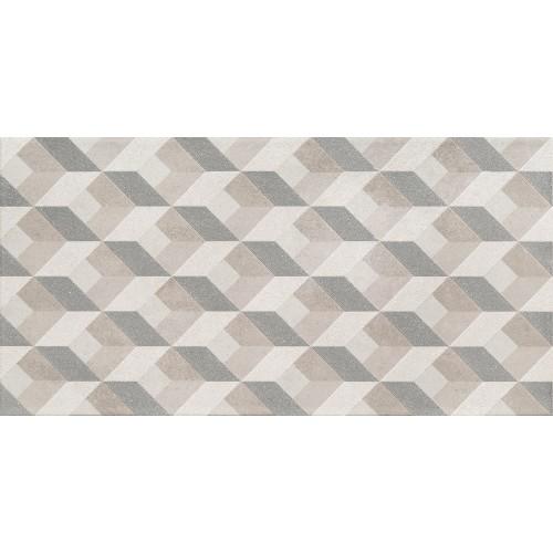Domino Ceramika Temprte Grey 30,8x60,8 dekor