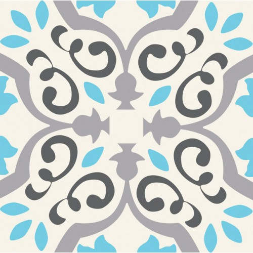 Tubadzin Unit Plus Patch White 20x20 dekor