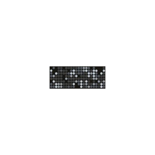 Ceramika Konskie Michelle Sigma Black Inserto 20x50 dekor