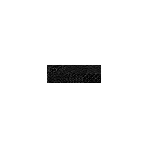 Ceramika Konskie White/Black Black Inserto 20x60 dekor